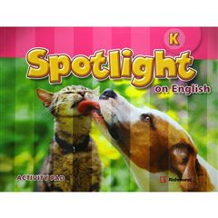 Spotlight On English K Activity Pad - Sanborns
