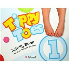 Tippy Toes 1 Activity Book - Sanborns