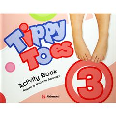 Tippy Toes 3 Activity Book - Sanborns