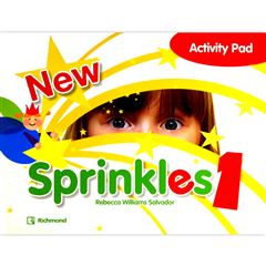 New Sprinkles 1 Activity Pad - Sanborns