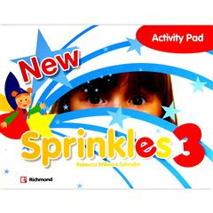 New Sprinkles 3 Activity Pad - Sanborns