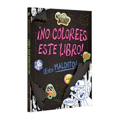 Gravity Falls. ¡No colorees este libro! - Sanborns