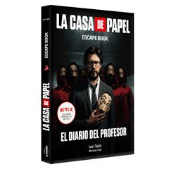 La casa de papel. Escape book - Sanborns