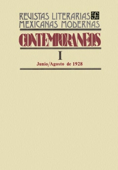 Contemporáneos I, junio-agosto de 1928 - Sanborns