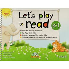 LetS Play To Read K-1. Cd Included - Sanborns