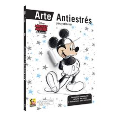 Mickey and Friends arte antiestrés - Sanborns