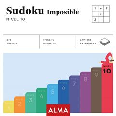 SUDOKU IMPOSIBLE. NIVEL 10 - Sanborns