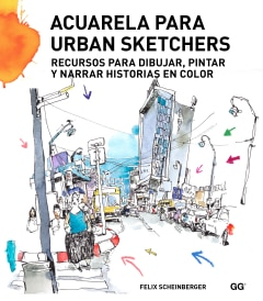 Acuarela para urban sketchers - Sanborns