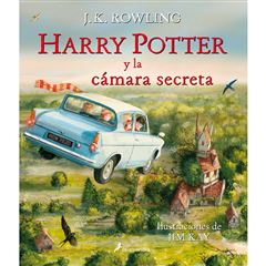 Harry Potter 2. Harry Potter y la cámara secreta (edición ilustrada) - Sanborns