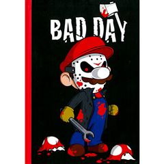 Cuaderno Bad Day (Calaveritas) - Sanborns