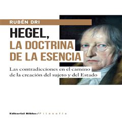 Hegel, la doctrina de la esencia - Sanborns