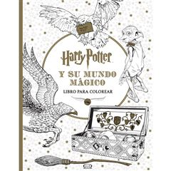 Harry Potter y su mundo mágico libro para colorear - Sanborns
