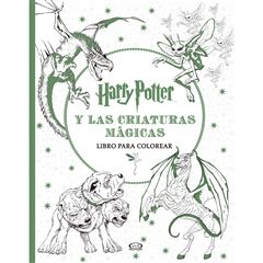 Harry Potter y las criaturas mágicas libro para colorear - Sanborns