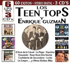 CD Los Teen Tops Y Enrique Guzmán - Sanborns